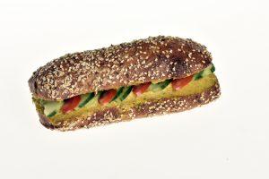 Sandwich mit Humus (Vegan)