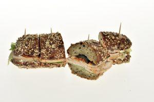 Sandwich mit Geflügel-Braten