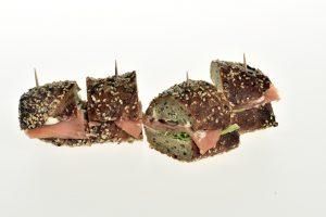 Sandwich mit Lachs