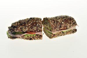 Sandwich mit Lyoner