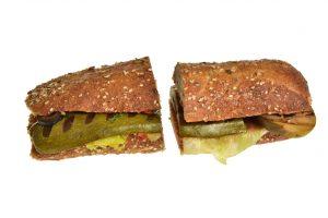 Sandwich mit Antipasti (Vegan)