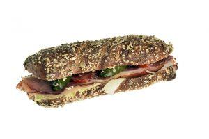 Sandwich mit Rohschinken