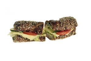 Sandwich mit Gruyere